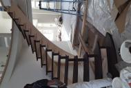 stair staining